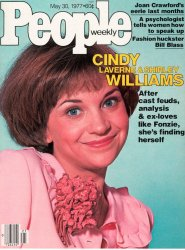 Vintage People Magazine Cindy Williams Laverne & Shirley May 30 1977