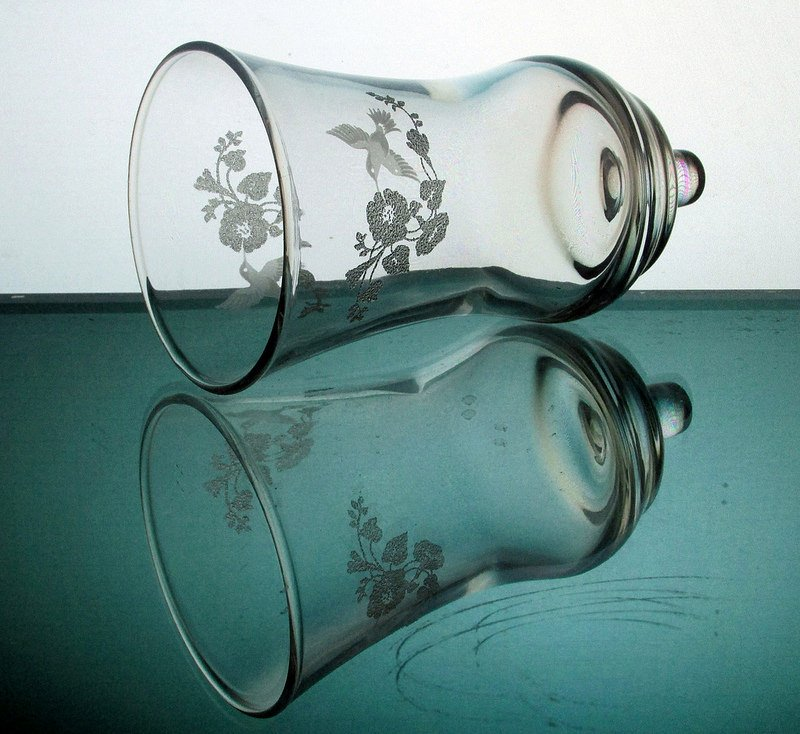 Image 4 of Home Interiors Peg Votive Candle Holder Embossed Hummingbird