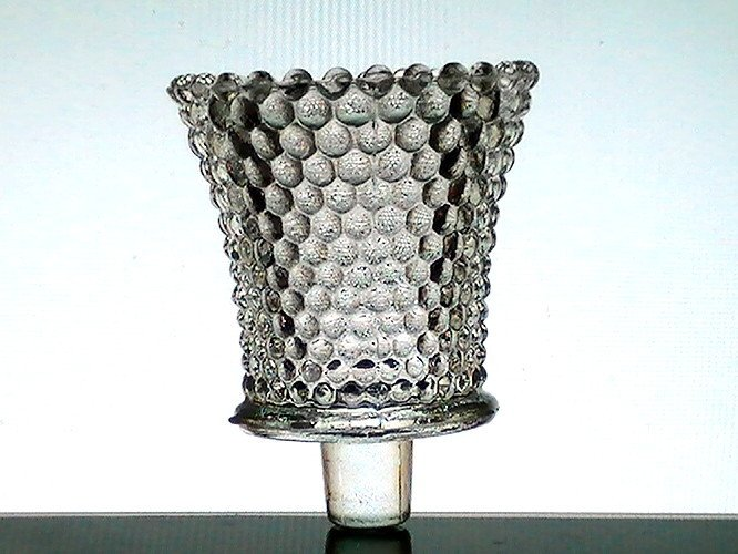Home interiors peg votive candle holder hobnail clear for Votive candles definition