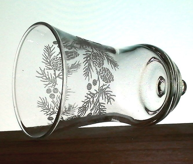 Home Interiors Peg Votive Candle Holder Holder Embossed Pinecones