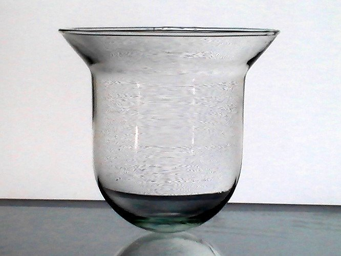 Hanging Candle Holder Round Bottom Flare 5 1/8 x 4.25 HCH096