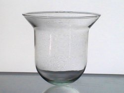 Hanging Candle Holder Cup Round Bottom Flare 5 1/8 x 5.5 HCH123