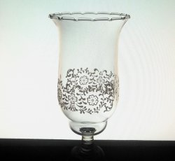 Home Interiors Peg Votive Candle Holder Park Lane Embossed