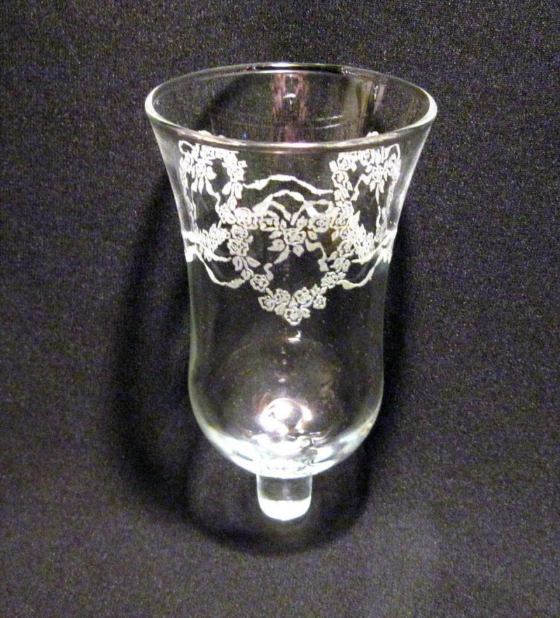 Home Interiors Peg Votive Candle Holder Lace Hearts And