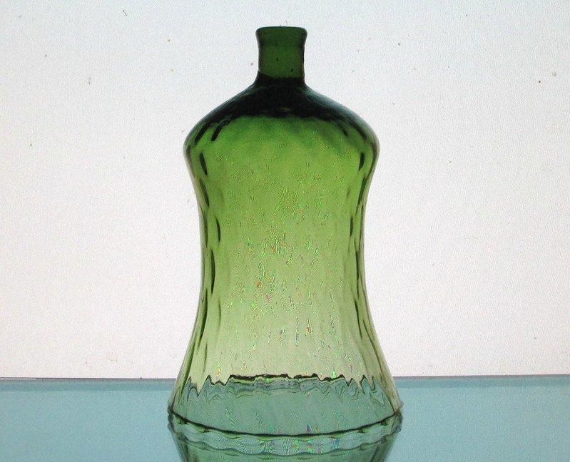 Image 4 of Home Interiors Peg Votive Candle Holder Flared Green Tudor Style