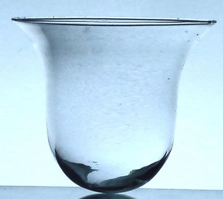 Hanging Candle Holder Partylite Round Bottom Flare 5 25 X