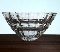 Hanging Candle Holder Heavy Crystal Beveled and Tiered 2.25 x 4.5