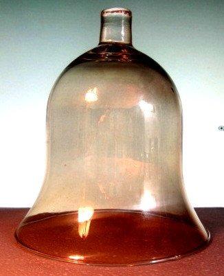Home Interiors Peg Votive Holder Milano Gold Bell Shape Light Amber