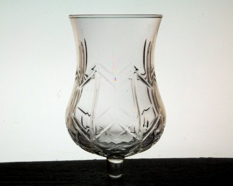 Home Interiors Peg Votive Holder Large Diamond Hurricane