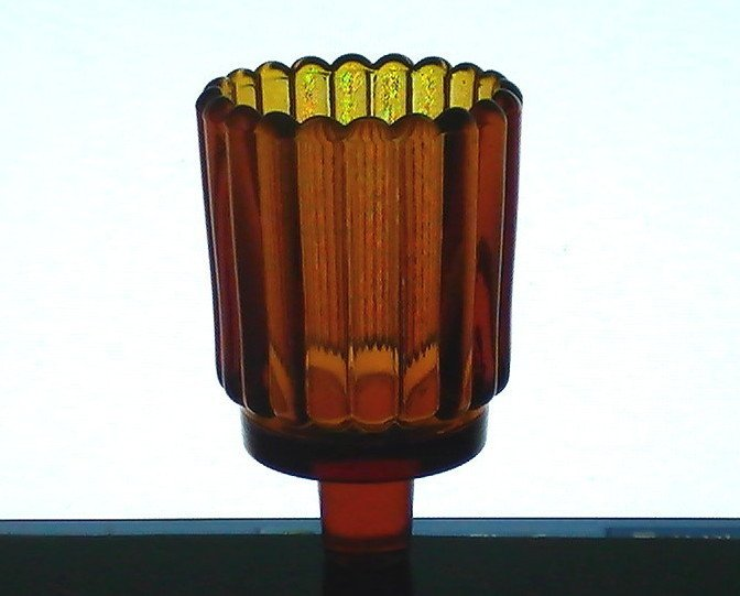 Home Interiors Peg Votive Candle Holder Rounded Ridged
