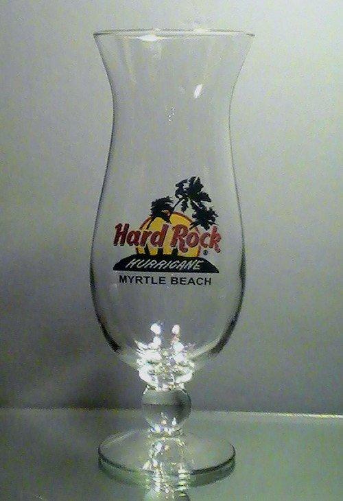 Hard Rock Cafe Myrtle Beach Hurricane Daiquiri Glass 20 oz Collectible