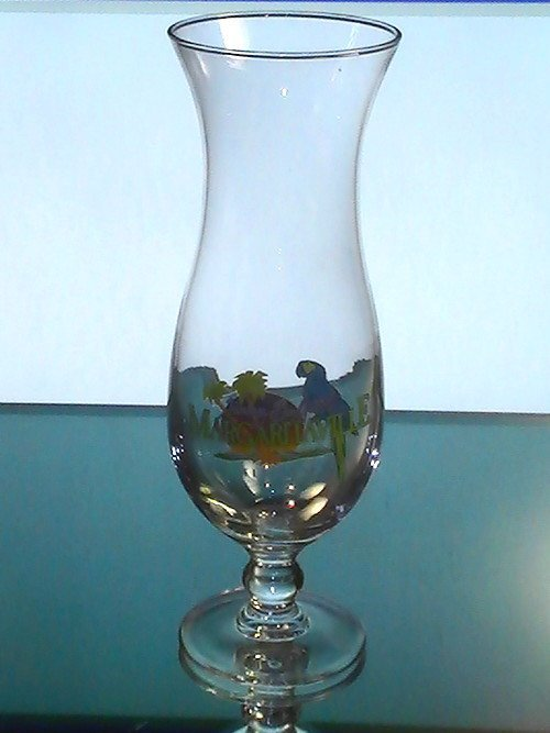 Image 0 of Margaritaville Myrtle Beach Hurricane Daiquiri Glass 18 oz Collectible