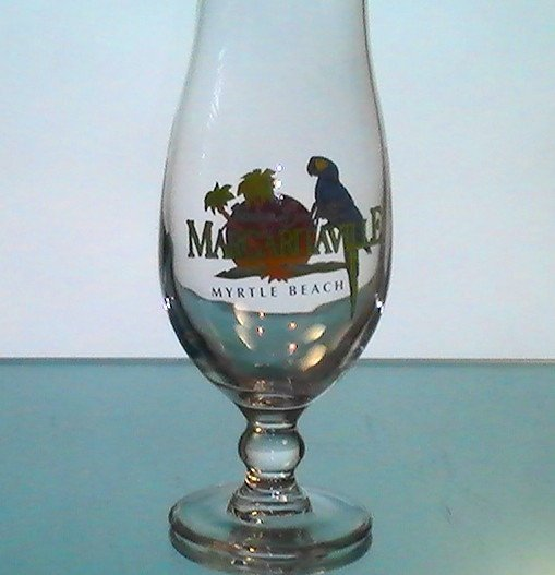 Image 3 of Margaritaville Myrtle Beach Hurricane Daiquiri Glass 18 oz Collectible