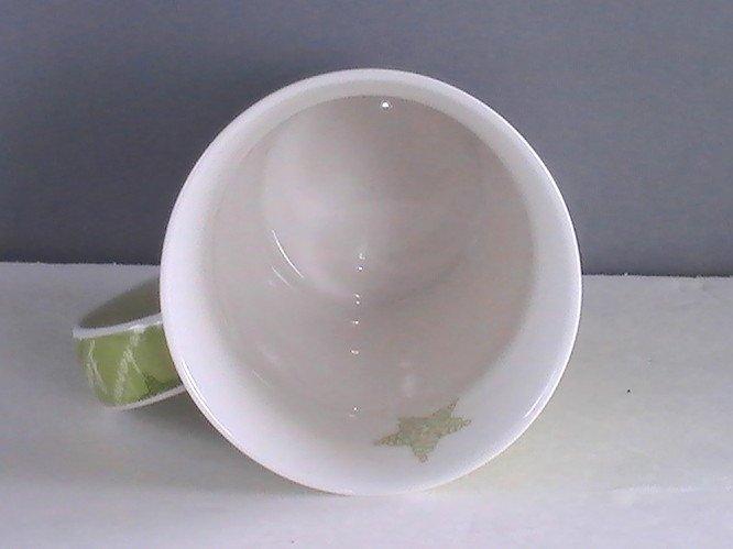 Starbucks Coffee Mug Cup Love Live Be in Harmony Green 12 oz