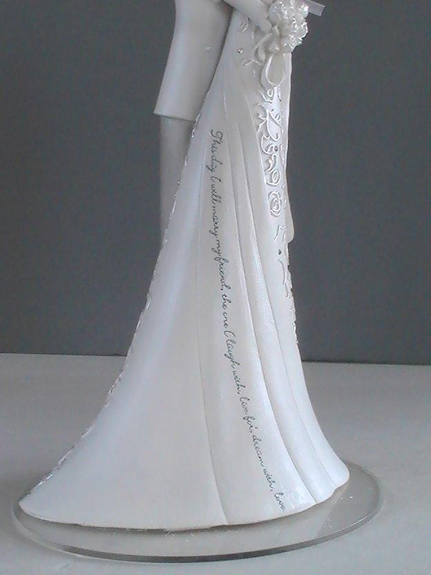 Gina Freehill Wedding Cake Topper Embrace