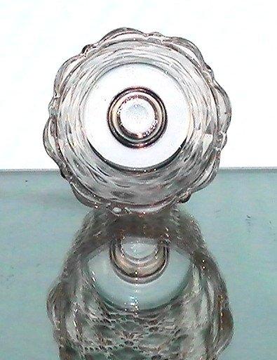 Peg Votive Holder Partylite Quilted Bubbles Clear P9246