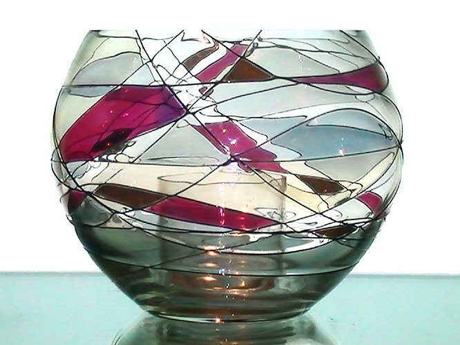 Partylite Mosaic Candle Holder P0193 Retired Oos