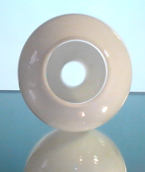 Hurricane Lamp Shade White Glass 3 inch fitter x 10