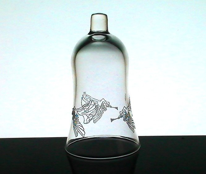 Home Interiors Peg Votive Holder Embossed Trumpeting Angels