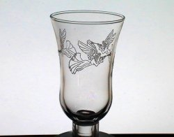 Home Interiors Peg Votive Holder Embossed Trumpeting Angels 5428