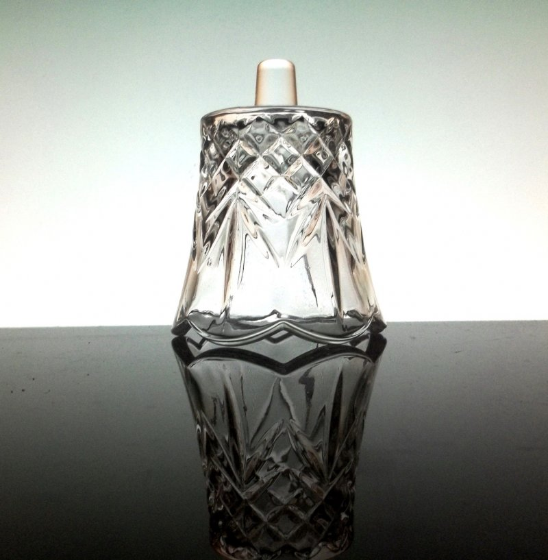Home Interiors Cambridge Peg Votive Candle Holder Crystal 1138-BD