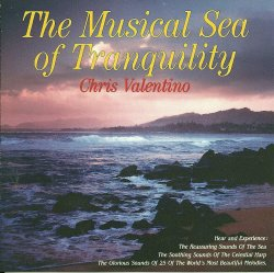 The Musical Sea of Tranquility Chris Valentino CD Relaxation Harp