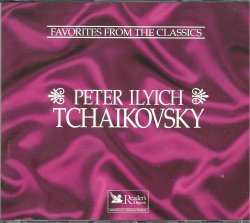 Favorites From The Classics Tchaikovsky Readers Digest Collection 2 Audio CD Box