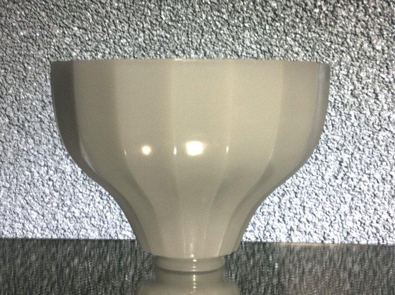 Milk Glass Lamp Shade White 2.25 inch fitter x 8.25 x 6