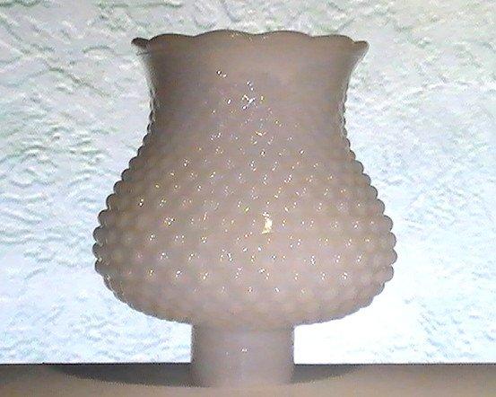 White milk glass lamp shade hobnail 1 58 inch fitter x 625h x 475 white milk glass lamp shade hobnail 1 58 inch fitter x 625h x 475w vintage aloadofball Gallery