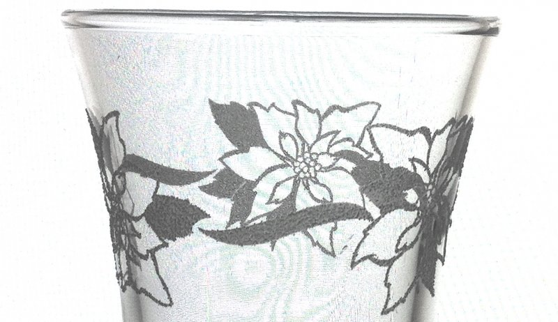 Home Interiors Peg Votive Candle Holder Holder Embossed Poinsettias