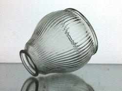 '.Lamp Shade Clear 2 1/8 Fitter.'