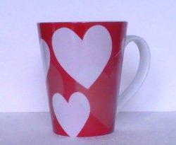 '.Coffee Mug Starbucks Hearts.'