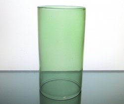 Hurricane Shade Sleeve Cylinder Green 6.75 x 4