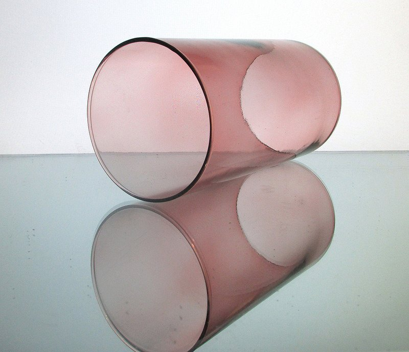 Hurricane Shade Sleeve Cylinder Rose 7.25 x 4