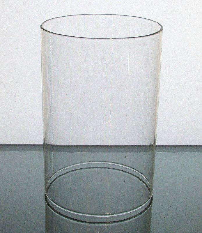 Hurricane Shade Sleeve Cylinder Clear 8 h x 4 w
