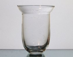 Hanging Candle Holder with Flared Rim 3.75 x 4.75 HCH018