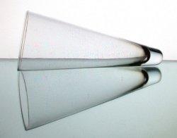 '.Hanging Cone Vase 3.75 x 9.25.'