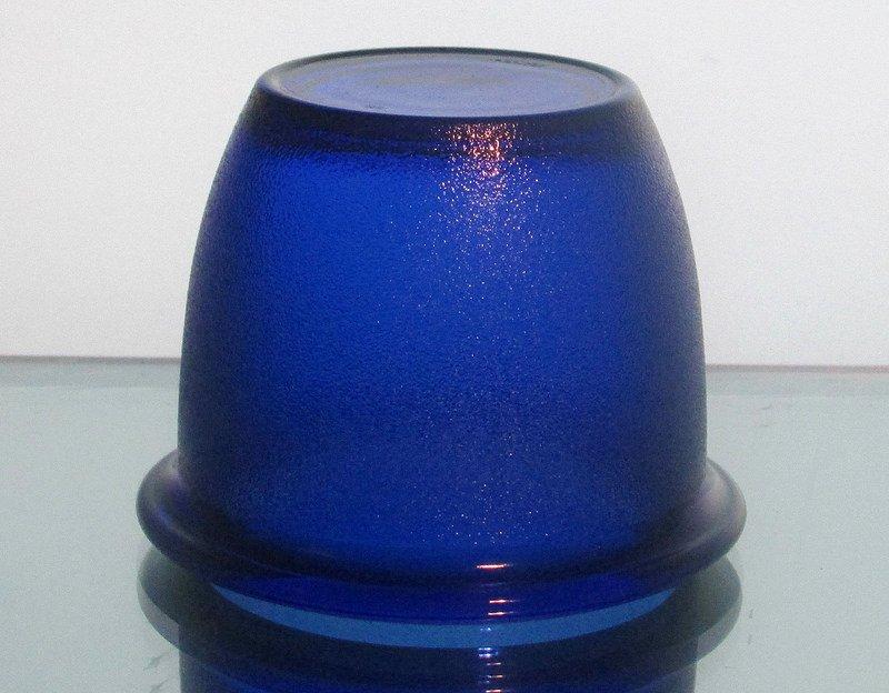 Hanging Candle Holder 2.5 x 3.25 HCH012 Cobalt Blue Heavyweight