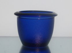 Hanging Candle Holder 2.5 x 3.25 HCH012 Cobalt Blue Heavyweight