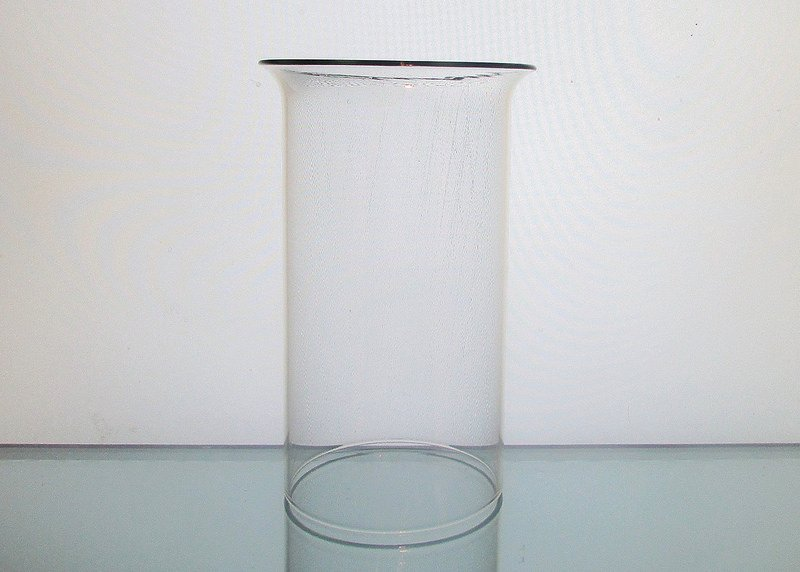 Hurricane Shade Sleeve Cylinder Clear 6 5 X 3 3 8 Flared