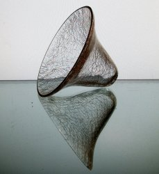 '.Crackle Glass 3.5 x 4 5/8.'