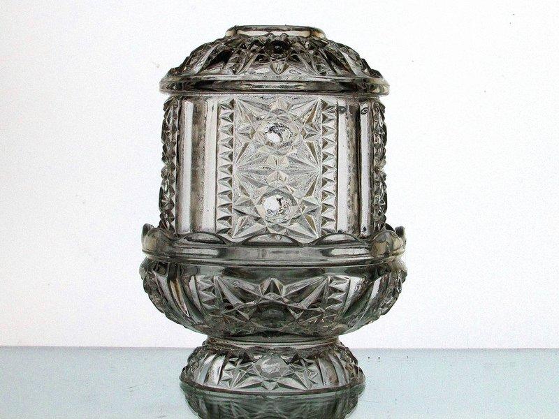 Home Interiors Fairy Lamp Candle Holder Star Diamond Cut