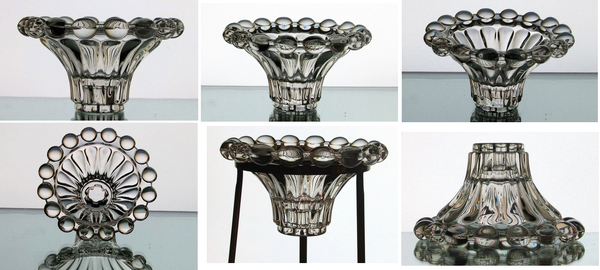 Image 7 of Hanging Candle Holder Crystal Balls Reversible Candle Stick for 3.5 inch ring