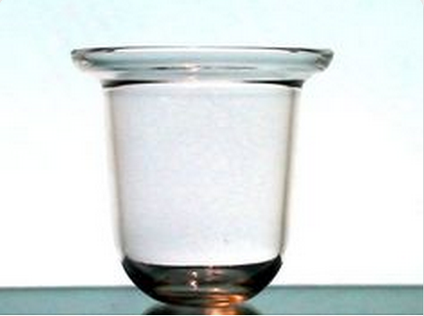 Hanging Candle Holder Thick Glass with Flared Rim 4 x 4 Heavy Weight HCH026