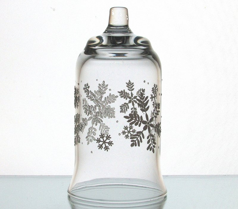 Home Interiors Peg Votive Candle Holder Snowflakes Embossed Holiday