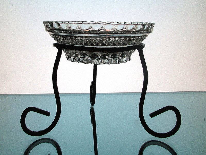 Hanging Candle Bowl 5 3/8 x 2 in a 4 inch ring
