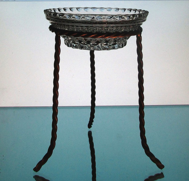 Hanging Candle Bowl 5 3/8 x 2 in a 4.25 inch ring