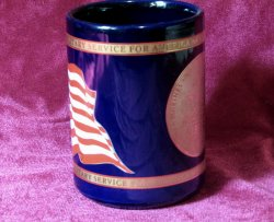 '.Coffee Mug Women in Military.'