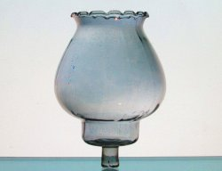 Home Interiors Victorian Peg Votive Candle Holder Celeste Pale Blue