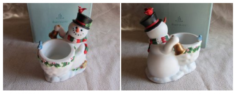 Partylite Snowbell Christmas Votive Candle Holder P9890